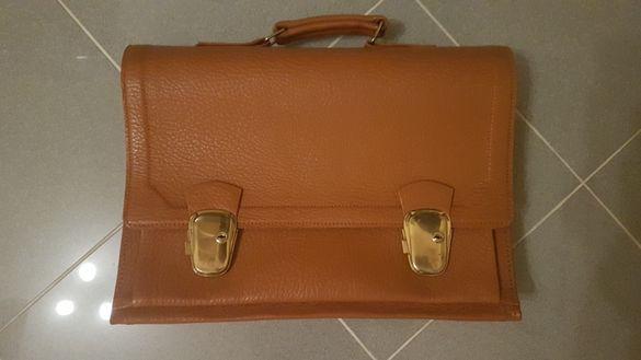 Чанта за документи естествена кожа