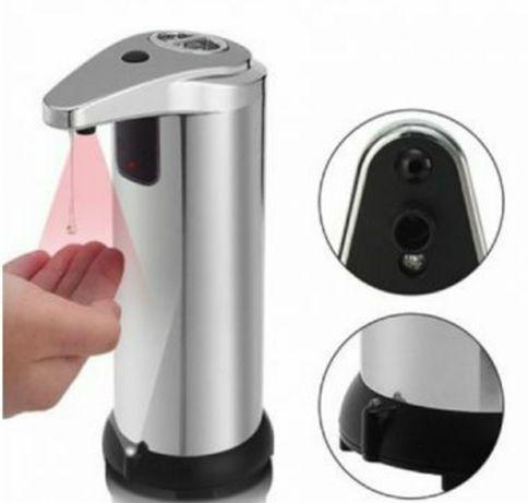 Dozator automat sapun lichid cu senzori gri
