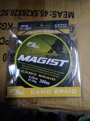 Плетено Влакно Fl Magist Camo Braid - 100м и 300м