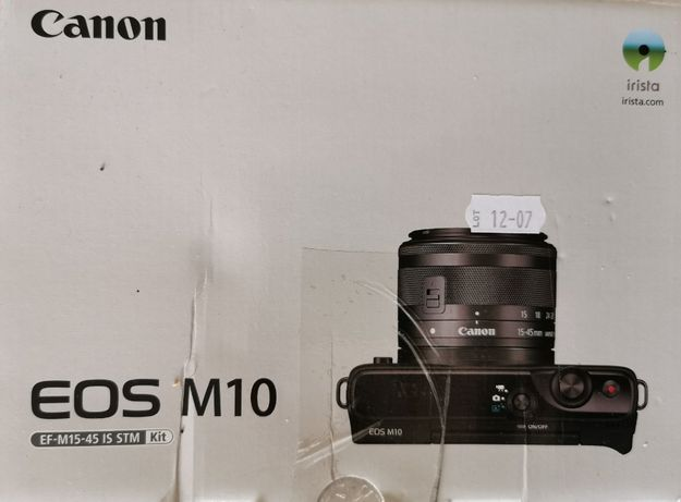 Camera foto mirrorless CANON EOSM10