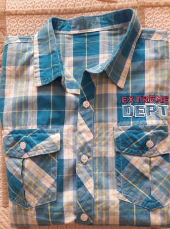 детски дънков панталон и риза