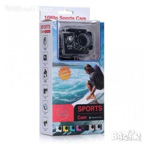 Екшън камера 1080p 16 MP с аксесоари - Waterproof Action