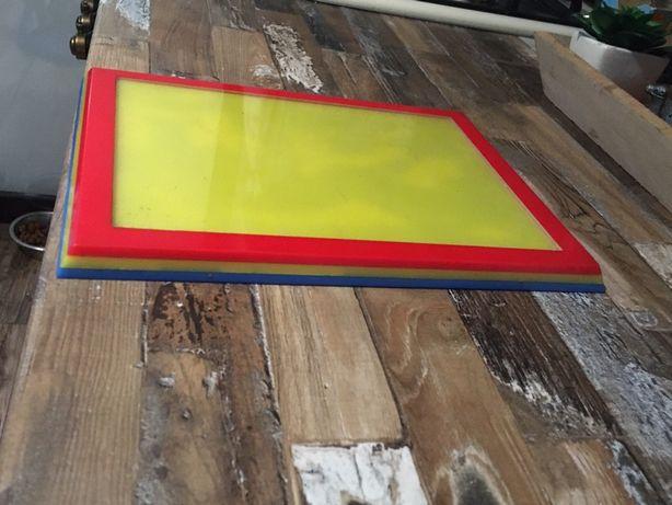 Tablou plexic tricolor
