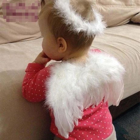 Inger, aripioare îngeraș, recuzita sedinta foto bebelus,aripi, bentita