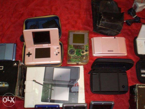 Console game boy alb negu,color,advance,sp,ds,dsi,sega game gear.