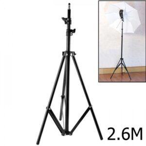 2 Stative pentru umbrela, blenda, lampa sau blitz 2,6 m NOI !