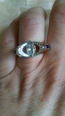 Уникален позлатен мъжки пръстен
