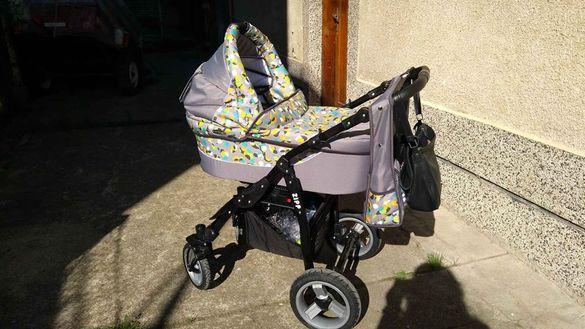 Детска количка Adbor Zipp 2&1