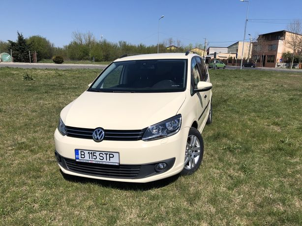 VW TOURAN 2.0 TDI 2014/Navi/Piele/Automata/7 Locuri