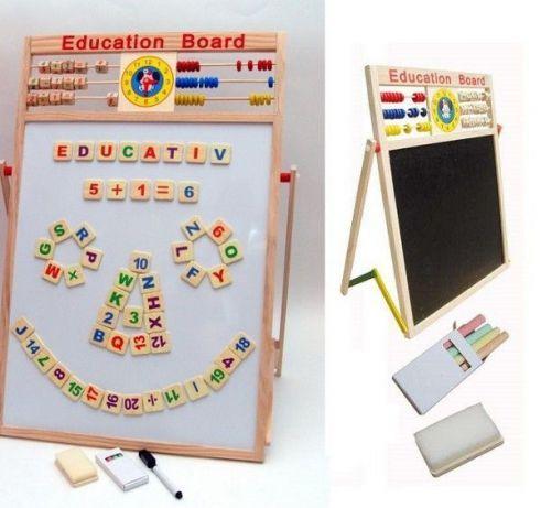 Tabla magnetica educativa pentru copii MARE 40cm X 60cm NOU