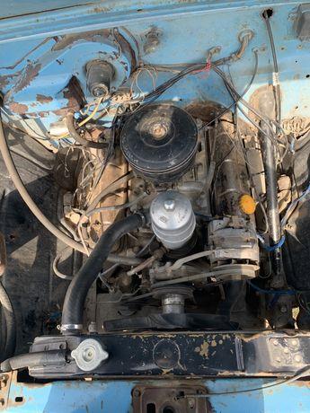 Мотор в сборе газ 53