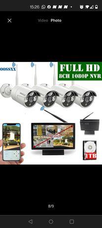 System de camere full HD ip profesional integrat în monitor