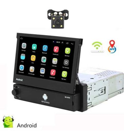 Dvd Mp5 Player ANDROID Retractabil Wi-FI Garantie 2 ani