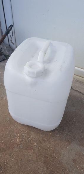 Туба 20 литра изполвана веднъж