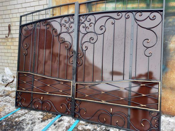 Ворота заборы по вашим размерам