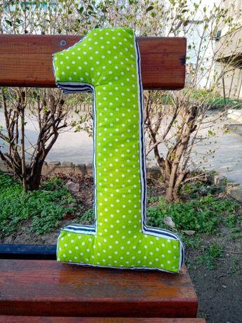 Цифри от текстил за рожден ден