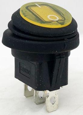 Comutator, ON-ON - 6A/250V - 35x24mm