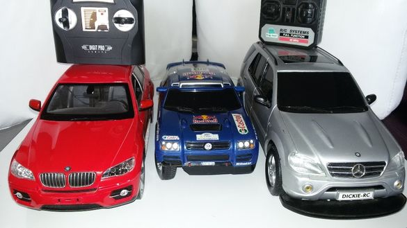 RC BMW X6, Mercedrs ML , WV Dakar
