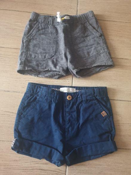 Къси панталонки Zara и НМ 2-3 г