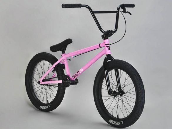 "НОВИ BMX 20"" MAFIA KUSH2+ PINK БМХ колело 20 цола велосипед"