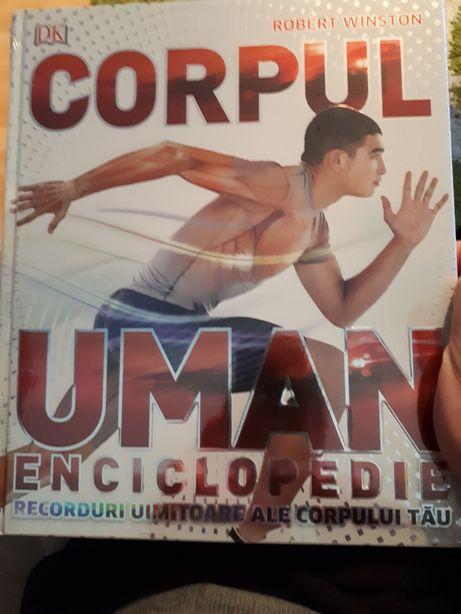 Vand carte Corpul uman enciclopedie sigilata