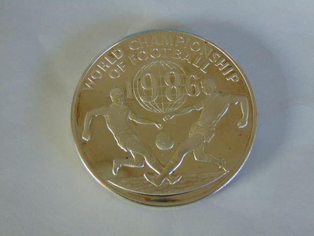 Moneda argint mare 1986 Jamaica