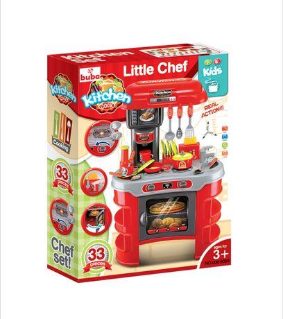 Детска детски кухня кухни със звук и светлина