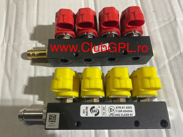 Rampa injectoare GPL Valtek - Rail