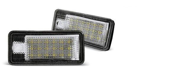 Плафони ЛЕД за заден номер на АУДИ / AUDI A3,S3,A4,S4,A6,S6Q7