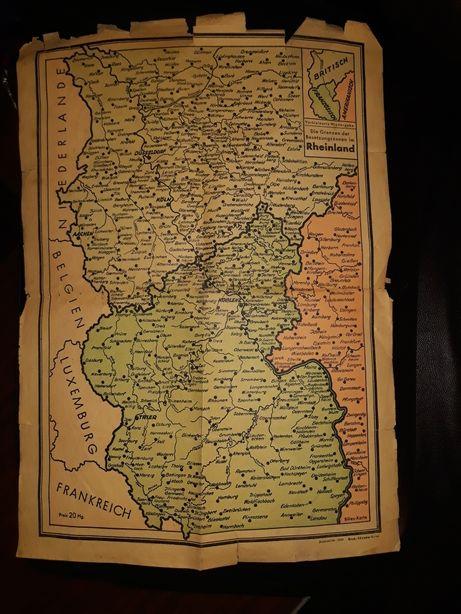 Hărți vechi germania