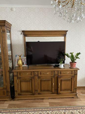 Мебель для гостиной, натуральный дуб