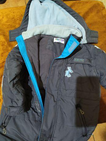 Куртка на мальчика рост 95 см, на осень, на синтепоне