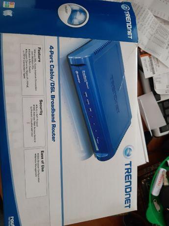 router Trendnet tw 100 s4w1ca
