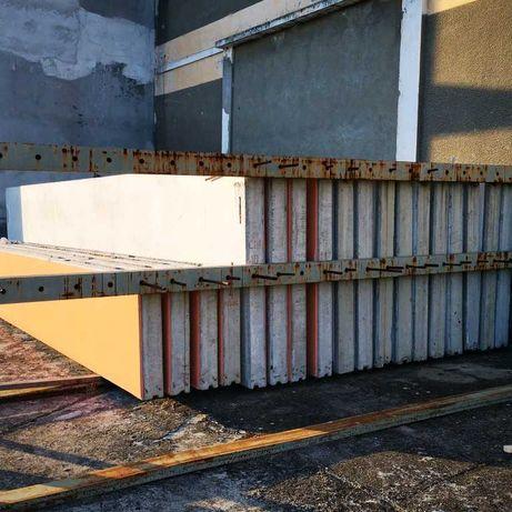Vand panouri prefabricate din beton armat/schimb cu auto/miniexcavator
