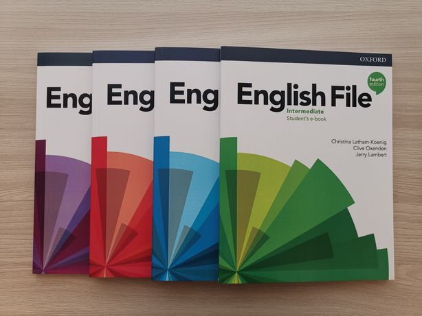 English file, Headway, Family and friends, Project, Solutions