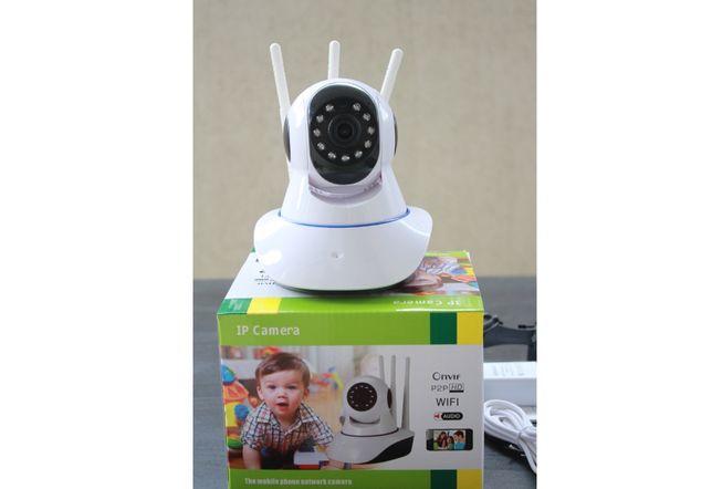 Camera Supraveghere camera copil IP Wifi Smart Gadget Rotativa HD