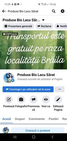 Produse Bio Lacu Sărat