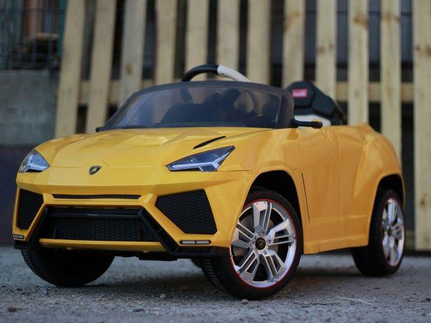 Masinuta electrica pentru copii Lamborghini Urus 2x 25W 12V #Galben