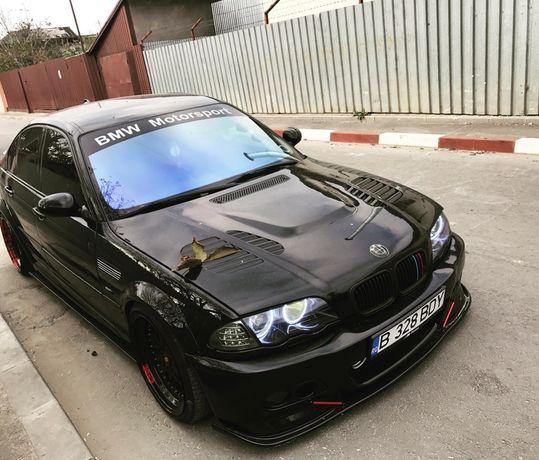 Lip Prelungire Fusta Hamann Bara fata BMW E46 M3 coupe sedan cabrio