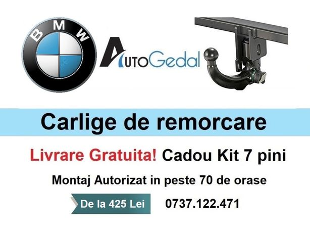 Carlig Remorcare BMW Seria1, Seria3, Seria5, Seria7, X1, X3, X4, X5,X6