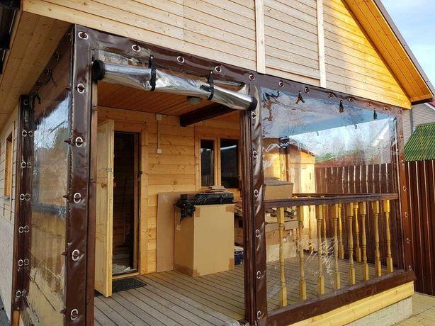 Мягкие окна г. Караганда, Абай, Сарань. Японская ПВХ пленка