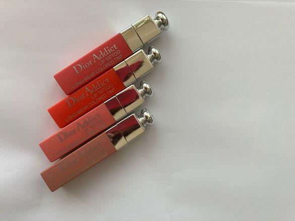 Dior addict lip tattoo longwear colored tint дълготрайно червило