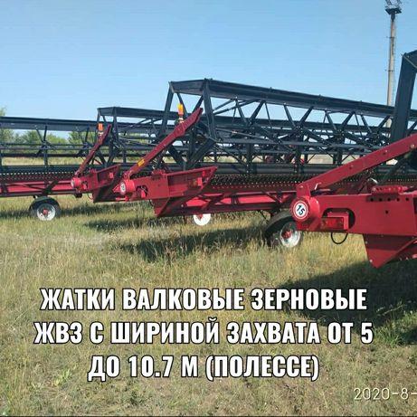 Жатки валковые зерновые 7 метровые Белорусь (Полессе)
