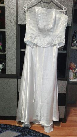 Vind rochie alba din 2 piese