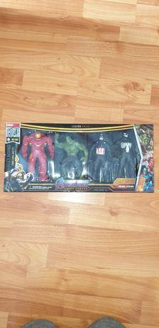 Set 4  Avengers - IronMan, Hulk, Captain America, Venom.
