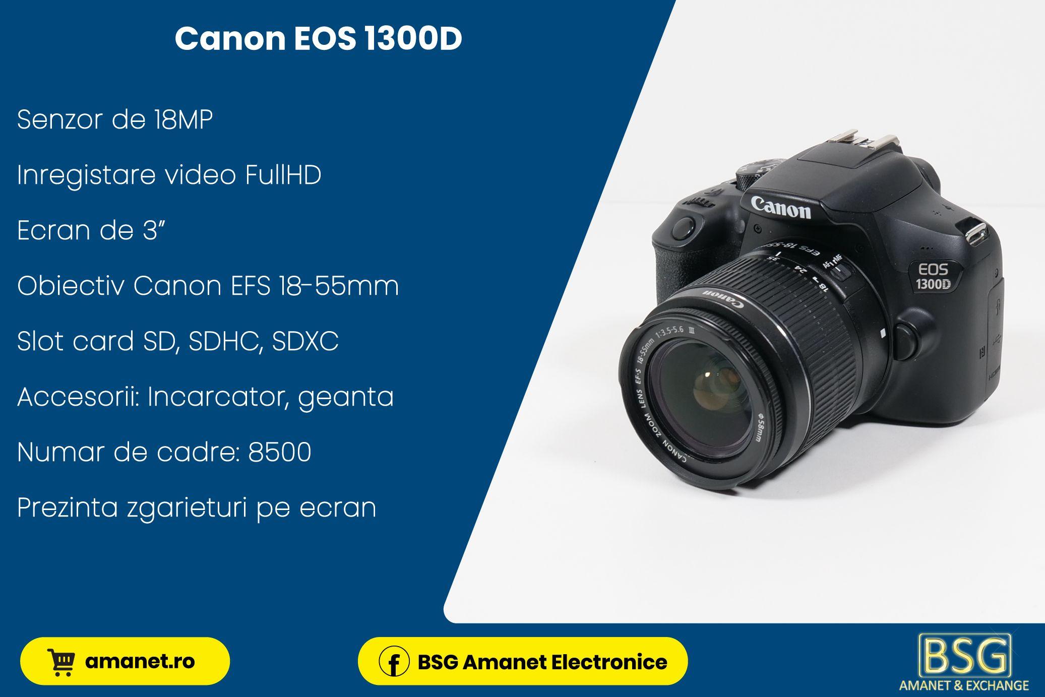 Ap. Foto Canon EOS 1300D - BSG Amanet & Exchange