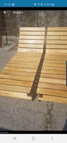 Sezlonguri din lemn