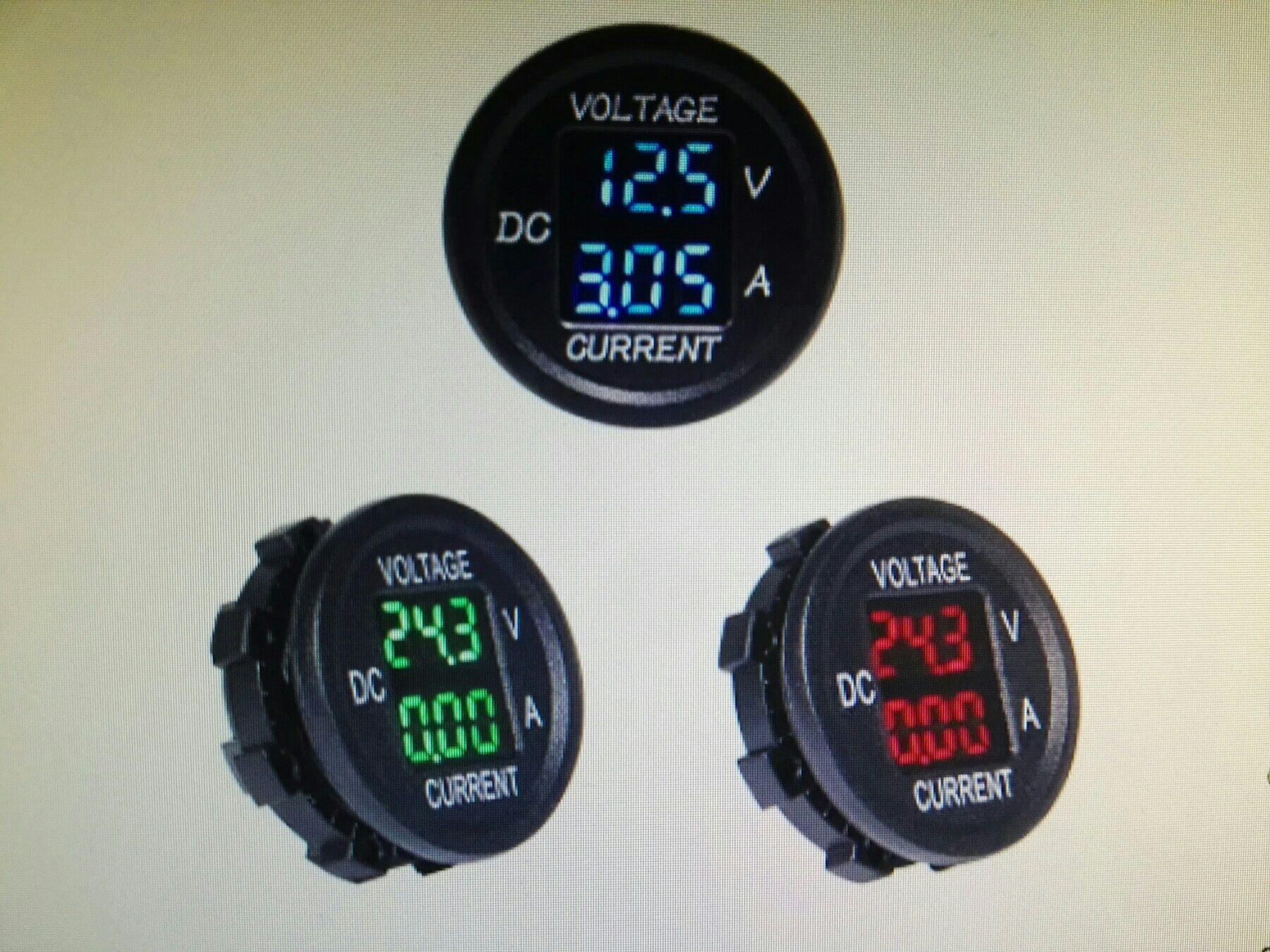 Дигитален волтметър, НОВ, волтметър с амперметър