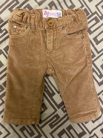 Детские брюки/джинсы р. 68-72 см, 6-9 мес