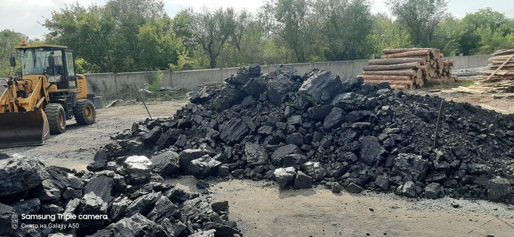 Крупный уголь дрова опилки песок гравий отсев Семей - изображение 1